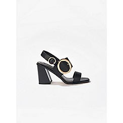 Miss Selfridge - Hattie circle buckle sandals