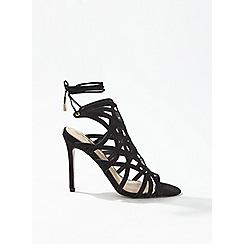 1cf29791831 Miss Selfridge - Hun caged stiletto heel sandals