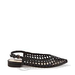 Miss Selfridge - Lelanna Woven Slingback Shoes