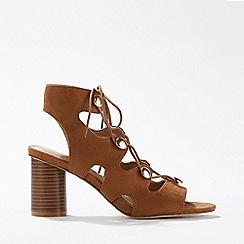 Miss Selfridge - Skylar Tan Gladiator Sandals