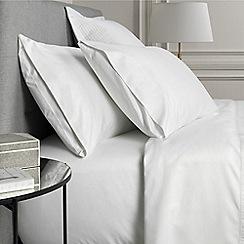 Sheridan - White '1000 thread count cotton sateen' pillow case pair