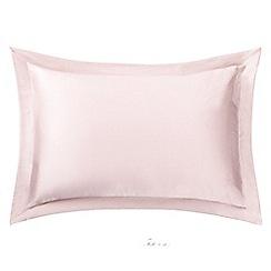 Sheridan - Pale pink 'Lanham' Oxford pillow case
