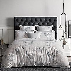 Sheridan - Pale grey 300 thread count 'Eddings' bedding set