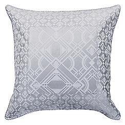 Sheridan - Silver 'Garrad' square pillow case