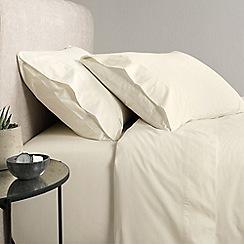 Sheridan - Light cream '300 thread count percale' flat sheet