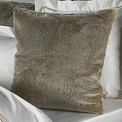 Sheridan - Taupe 'Rochard' pillowcase