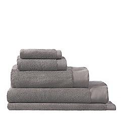 Sheridan - Dark grey 'Luxury Retreat' Turkish cotton towels