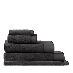 Sheridan - Near black 'Luxury Retreat' Turkish cotton towels
