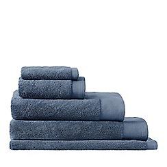 Sheridan - Mid blue 'Luxury Retreat' Turkish cotton towels