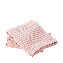 Sheridan - Pale Pink 'Eastdown' Throw