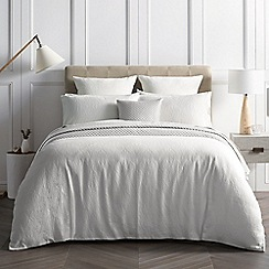 Sheridan - White 200 Thread Count 'Millgrove' Bedding Set