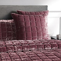 Sheridan - Mid rose 'Canfield' square sham pillowcase