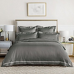 Sheridan - Dark grey 1200 thread count 'Palais lux' duvet cover