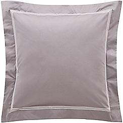 Sheridan - Dark grey 1200 thread count 'Palais lux' square pillow case
