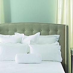 Sheridan - White quilted 'Christobel' square pillow case