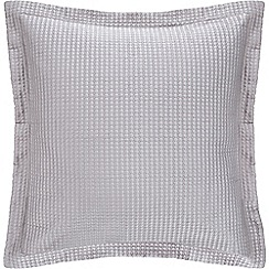 Sheridan - Pale grey 'Christobel' square cushion