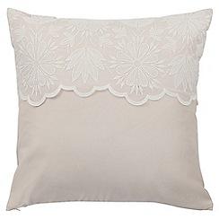 Sheridan - Natural 240 thread count 'Hayward' square pillow case
