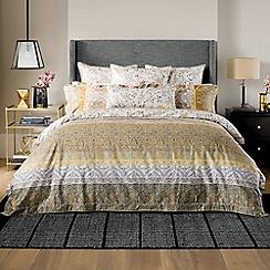 Sheridan - Bronze 'Mercurio' 300 thread count deep fitted sheet