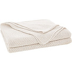 Sheridan - Taupe 'Earley' throw