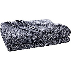 Sheridan - Navy 'Earley' throw