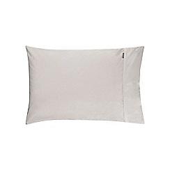 Sheridan - Silver '500 thread count cotton sateen' sheet pillow case pair