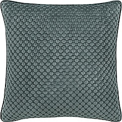 Sheridan - Mid blue 'Emington' square cushion
