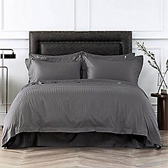 Sheridan - Dark grey 400 thread count 'Tindall' bedding set