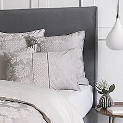 Sheridan - Pale grey 'Angelis' pillow case pair