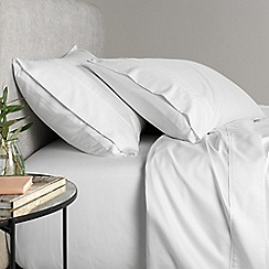 Sheridan - White 500 thread count 'Tencel' fitted sheet