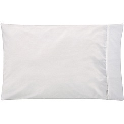 Sheridan - White 500 thread count 'Tencel' standard pillow case pair