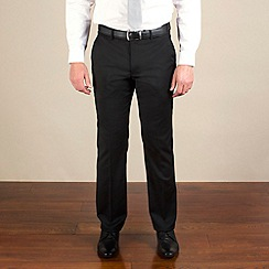 Stvdio by Jeff Banks - Black twill tailored fit trouser