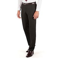 Thomas Nash - Black stripe slim fit suit trouser