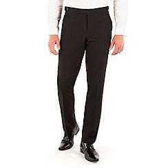 Occasions - Black dresswear slim fit suit trouser