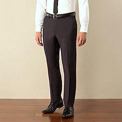 Ben Sherman - Aubergine tonic camden skinny fit suit trouser