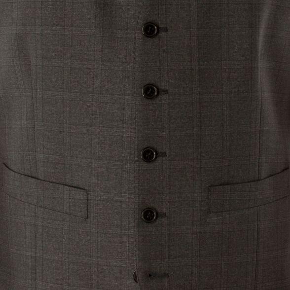 Charcoal Sherman waistcoat camden fit skinny check button Ben 5 suit fPwzqdq5