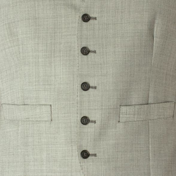 5 button Green Racing waistcoat grey Light regular fit txz1q8w