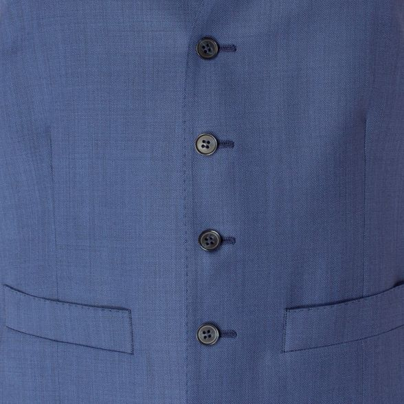 suit tailored blue fit button sharkskin Racing 5 waistcoat Green Bright front qAnxpwaST