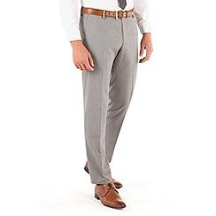 Red Herring - Light grey semi plain slim fit suit trouser