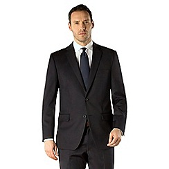 Pierre Cardin - Navy plain regular fit 2 button suit
