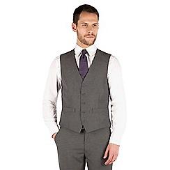 Thomas Nash - Grey narrow stripe 5 button waistcoat