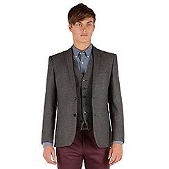 Red Herring - Grey Herringbone 2 button jacket