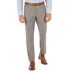 Red Herring - Light grey donegal look trousers