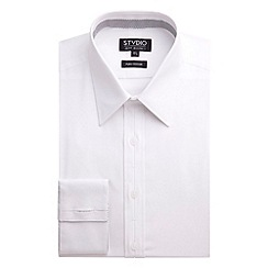 Stvdio by Jeff Banks - White poplin shirt