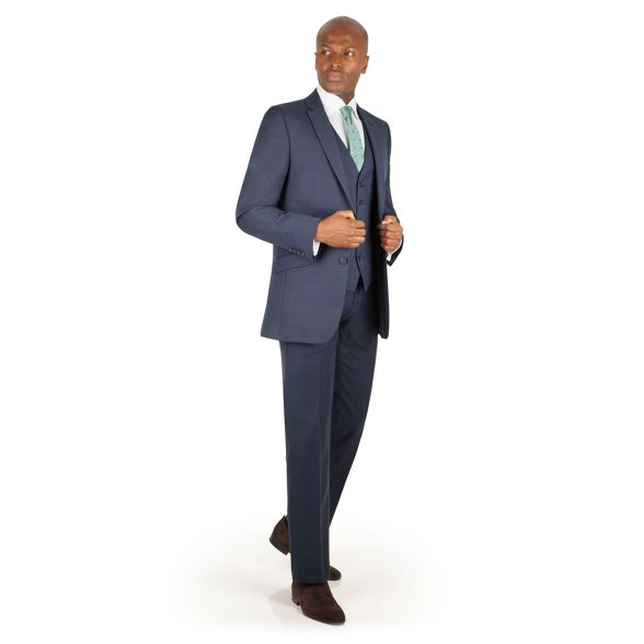 suit pick and Blue trouser fit tailored Racing Green pick C6qw4n0P