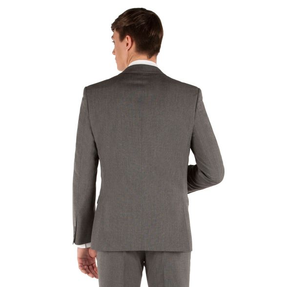 plain Nash fit suit 2 semi button jacket slim Thomas Grey q6wTFOUw