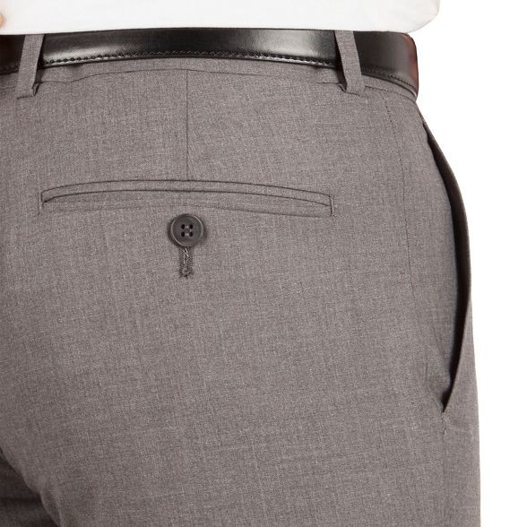 plain fit Occasions slim weave trouser Grey awCq5Iq0U
