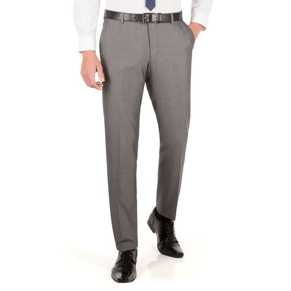 Silver Red tonic Herring slim grey suit trouser fit pagPxa