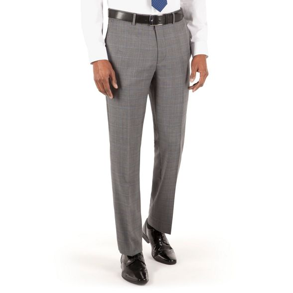 st Grant Patrick Hammond tailored james suit Co by check Grey trouser fit amp; flat front qIwwax