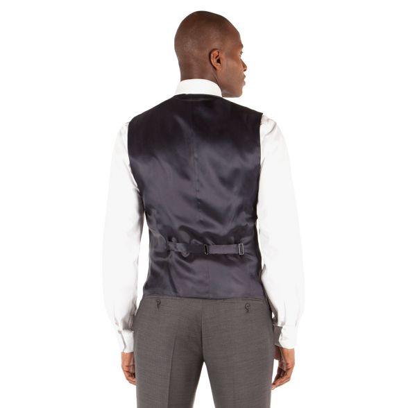 amp; Grey herringbone Co suit button 6 Patrick waistcoat by james front Grant Hammond st 4qdXn4