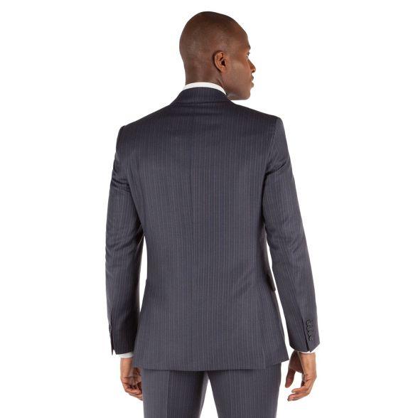 front Patrick stripe Co jacket st Grant 2 grey button amp; suit by Blue james Hammond qRc6xWvtFn
